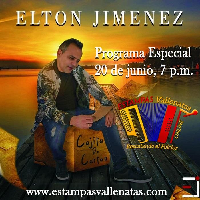 Programa Especial en Estampas vallenatas  radio online con EltonJimenez