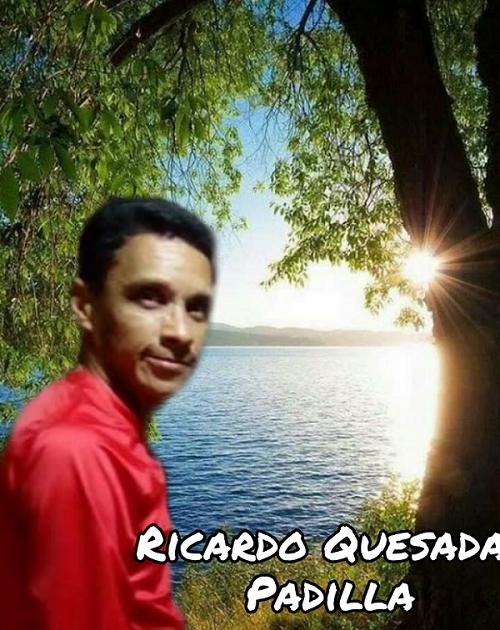 """Ricardo Quesada Padilla """"La música es un puente para expresar mis sentimientos"""""""