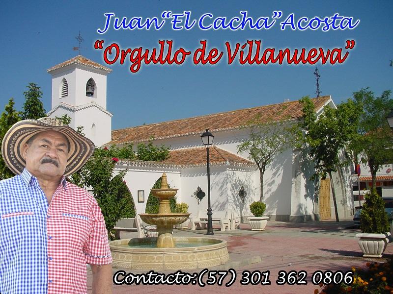 """Juan """"El Cacha Acosta"""" sentimientovillanuevero"""